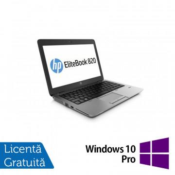 Laptop HP EliteBook 820 G1, Intel Core i7-4600U 2.10GHz, 8GB DDR3, 120GB SSD, 12 inch + Windows 10 Pro Laptopuri Refurbished
