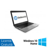 Laptop HP Elitebook 820 G2, Intel Core i5-5300U 2.30GHz, 8GB DDR3, 120GB SSD, Webcam, 12 Inch + Windows 10 Home