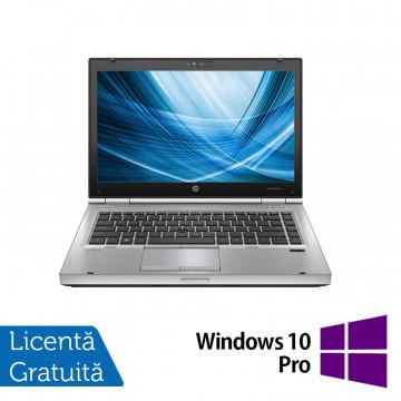 Laptop HP EliteBook 8460p, Intel Core i7-2620M 2.70GHz, 4GB DDR3, 120GB SSD, DVD-RW, 14 Inch, Webcam + Windows 10 Pro, Refurbished Laptopuri Refurbished