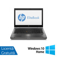 Laptop Refurbished HP EliteBook 8470p, Intel Core i5-3210M 2.50 GHz, 16GB DDR3, 500GB SATA, DVD-RW, 14 inch LED + Windows 10 Home