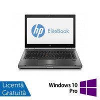 Laptop Refurbished HP EliteBook 8470p, Intel Core i5-3210M 2.50 GHz, 16GB DDR3, 500GB SATA, DVD-RW, 14 inch LED + Windows 10 Pro