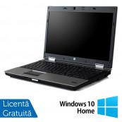 Laptop HP EliteBook 8540p, Intel Core i5-540M 2.53GHz, 4GB DDR3, 320GB SATA, DVD-ROM, 15.6 Inch, nVidia Quadro NVS 5100 + Windows 10 Home, Refurbished Laptopuri Refurbished