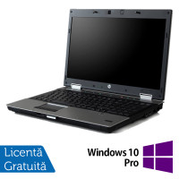 Laptop HP EliteBook 8540p, Intel Core i5-540M 2.53GHz, 4GB DDR3, 320GB SATA, DVD-ROM, 15.6 Inch, nVidia Quadro NVS 5100 + Windows 10 Pro