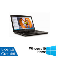 Laptop Hp Zbook 14 G2, Intel Core i7-5500U 2.40GHz, 16GB DDR3, 240GB SSD, 14 inch, IPS + Windows 10 Home