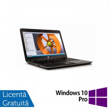 Laptop Hp Zbook 14 G2, Intel Core i7-5500U 2.40GHz, 16GB DDR3, 240GB SSD, 14 inch, IPS + Windows 10 Pro, Refurbished Laptopuri Refurbished