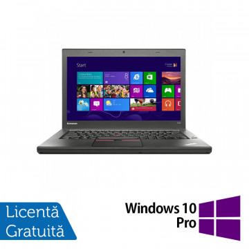 Laptop LENOVO ThinkPad T450, Intel Core i5-5300U 2.30GHz, 4GB DDR3, 500GB SATA, 14 Inch + Windows 10 Pro, Refurbished Laptopuri Refurbished