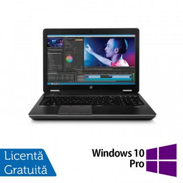 Laptop Second Hand Hp Zbook 15, Intel Core i7-4700MQ 2.40GHz, 8GB DDR3, 320GB SATA, 15 inch + Windows 10 Home, Refurbished Laptopuri Refurbished
