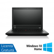 Laptop LENOVO ThinkPad L440, Intel Core i5-4300M 2.6GHz, 8GB DDR3, 320GB SATA, 14 Inch + Windows 10 Home, Refurbished Laptopuri Refurbished