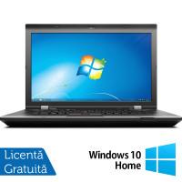 Laptop LENOVO ThinkPad L530, Intel Core i5-3230M 2.60GHz, 4GB DDR3, 500GB SATA, DVD-RW, 15.6 Inch, Fara Webcam + Windows 10 Home