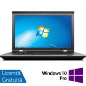Laptop LENOVO ThinkPad L530, Intel Core i5-3230M 2.60GHz, 4GB DDR3, 500GB SATA, DVD-RW, 15.6 Inch, Fara Webcam + Windows 10 Pro, Refurbished Laptopuri Refurbished