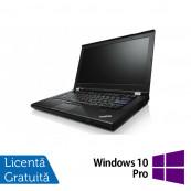 Laptop Lenovo ThinkPad T420s, Intel Core i7-2640M 2.80GHz, 8GB DDR3, 120GB SSD, DVD-RW, 14 Inch, Webcam + Windows 10 Pro, Refurbished Laptopuri Refurbished