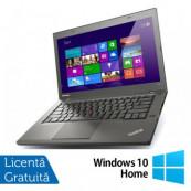 Laptop Lenovo ThinkPad T440, Intel Core i5-4300U 1.90GHz, 4GB DDR3, 120GB SSD, 14 Inch, Webcam + Windows 10 Home, Refurbished Laptopuri Refurbished