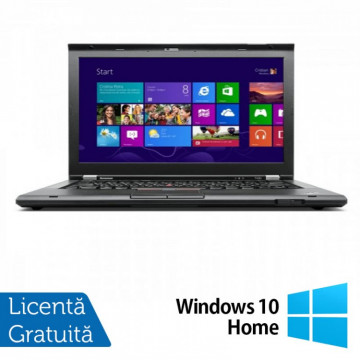 Laptop LENOVO ThinkPad T430, Intel Core i5-3320M 2.60GHz, 4GB DDR3, 500GB SATA, 14 Inch + Windows 10 Home, Refurbished Laptopuri Refurbished