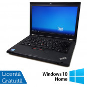 Laptop LENOVO ThinkPad T430, Intel Core i5-3320M 2.60GHz, 8GB DDR3, 320GB SATA, DVD-RW + Windows 10 Home, Refurbished Laptopuri Refurbished