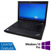 Laptop LENOVO ThinkPad T430, Intel Core i5-3320M 2.60GHz, 8GB DDR3, 320GB SATA, DVD-RW + Windows 10 Pro, Refurbished Laptopuri Refurbished