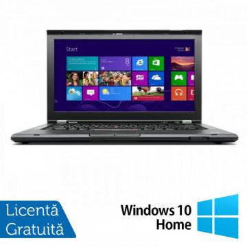 Laptop Refurbished Lenovo ThinkPad T430, Intel Core i5-3320M 2.60GHz, 4GB DDR3, 320GB SATA, DVD-RW, 14 Inch + Windows 10 Home Laptopuri Refurbished
