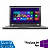 Laptop Refurbished Lenovo ThinkPad T430, Intel Core i5-3320M 2.60GHz, 4GB DDR3, 320GB SATA, DVD-RW, 14 Inch + Windows 10 Pro Laptopuri Refurbished
