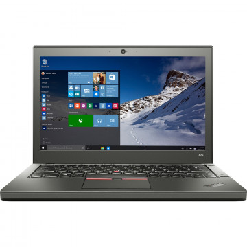Laptop Lenovo Thinkpad X250, Intel Core i7-5600U 2.60GHz, 8GB DDR3, 120GB SSD, 12.5 Inch, Second Hand Laptopuri Second Hand