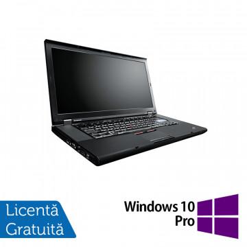 Laptop Lenovo ThinkPad W520, Intel Core i7-2860QM 2.50GHz, 8GB DDR3, 320GB SATA, Nvidia Quadro 1000 2GB, Webcam, 15.6 Inch + Windows 10 Pro, Refurbished Laptopuri Refurbished