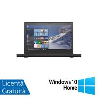 Laptop Lenovo Thinkpad X260, Intel Core i5-6300U 2.40GHz, 8GB DDR4, 500GB SATA, 12 Inch, Geanta Antisoc + Windows 10 Home