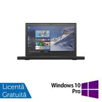 Laptop Lenovo Thinkpad X260, Intel Core i5-6300U 2.40GHz, 8GB DDR4, 500GB SATA, 12 Inch, Geanta Antisoc + Windows 10 Pro