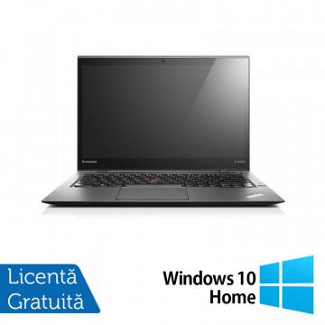 Laptop Lenovo ThinkPad X1 CARBON, Intel Core i5-3427U 1.80GHz, 8GB DDR3, 180GB SSD, 14 Inch + Windows 10 Home, Refurbished Laptopuri Refurbished