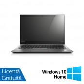 Laptop Lenovo ThinkPad X1 CARBON, Intel Core i7-4550U 1.50-3.00GHz, 8GB DDR3, 120GB SSD, 14 Inch, Webcam + Windows 10 Home, Refurbished Laptopuri Refurbished