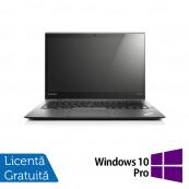 Laptop Lenovo ThinkPad X1 CARBON, Intel Core i7-4550U 1.50-3.00GHz, 8GB DDR3, 120GB SSD, 14 Inch, Webcam + Windows 10 Pro, Refurbished Laptopuri Refurbished