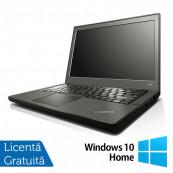 Laptop LENOVO Thinkpad x240, Intel Core i7-4600U 2.10GHz, 8GB DDR3, 120GB SSD, 12.5 Inch, Webcam + Windows 10 Home, Refurbished Laptopuri Refurbished
