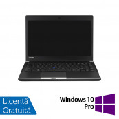 Laptop Toshiba Portege R30, Intel Core i5-4310M 2.70GHz, 8GB DDR3, 240GB SSD, 13 Inch + Windows 10 Pro, Refurbished Laptopuri Refurbished