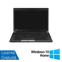 Laptop Toshiba Portege R30, Intel Core i5-4310M 2.70GHz, 4GB DDR3, 250GB SATA, 13 Inch + Windows 10 Home