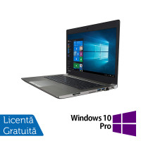 Laptop Toshiba Portege Z30, Intel Core i7-6500U 2.50GHz, 16GB DDR3, 512GB SSD, Full HD, 13.3 Inch + Windows 10 Pro
