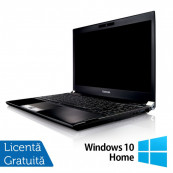 Laptop Toshiba Portege R830-13C, Intel Core I5-2520M 2.50GHz, 8GB DDR3, 240GB SSD, 13.3 inch, HDMI, Card Reader + Windows 10 Home, Refurbished Laptopuri Refurbished