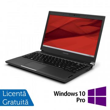Laptop Toshiba Portege R930, Intel Core i5-3320M 2.60GHz, 4GB DDR3, 320GB SATA, DVD-RW, 13.3 Inch + Windows 10 Pro, Refurbished Laptopuri Refurbished