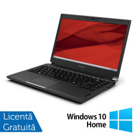 Laptop Toshiba Portege R930, Intel Core i5-3340M 2.70GHz, 4GB DDR3, 120GB SSD, DVD-RW, 13.3 Inch, Webcam + Windows 10 Home