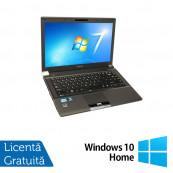 Laptop Refurbished Toshiba Tecra R840-10Z, Intel Core i5-2520M 2.50GHz, 4GB DDR3, 320GB SATA, DVD-RW, 14 Inch + Windows 10 Home Laptopuri Refurbished
