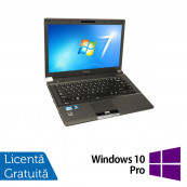Laptop Refurbished Toshiba Tecra R840-10Z, Intel Core i5-2520M 2.50GHz, 4GB DDR3, 320GB SATA, DVD-RW, 14 Inch + Windows 10 Pro Laptopuri Refurbished