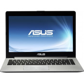 Laptop ASUS VivoBook S400C, Intel Core i3-3217U 1.80GHz, 4GB DDR3, 500GB SATA, 14 Inch, Webcam, Second Hand Laptopuri Second Hand