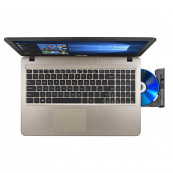 Laptop Asus X540S, Intel Celeron N3050 1.60-2.16GHz, 4GB DDR3, 500GB SATA, DVD-RW, 15.6 Inch, Webcam, Tastatura Numerica, Second Hand Laptopuri Second Hand