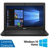 Laptop DELL Latitude 5280, Intel Core i5-7200U 2.50GHz, 8GB DDR4, 120GB SSD M.2, 12.5 Inch, Webcam + Windows 10 Home, Refurbished Laptopuri Refurbished