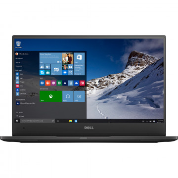 Laptop DELL Latitude 7370, Intel Core M5-6Y57 1.10-2.80GHz, 8GB DDR3, 240GB SSD, 13.3 Inch Full HD, Webcam, Second Hand Laptopuri Second Hand
