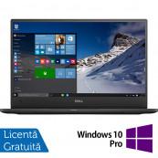 Laptop DELL Latitude 7370, Intel Core M7-6Y75 1.20-3.10GHz, 8GB DDR3, 240GB SSD, 13.3 Inch Full HD, Webcam + Windows 10 Pro, Refurbished Laptopuri Refurbished