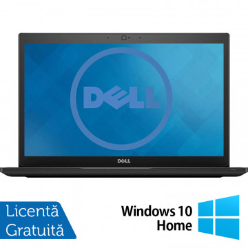 Laptop DELL Latitude 7480, Intel Core i5-7300U 2.60GHz, 8GB DDR4, 240GB SSD M.2, 14 Inch Full HD LED, Webcam + Windows 10 Home, Refurbished Laptopuri Refurbished