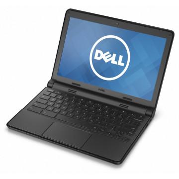 Laptop Dell Chromebook 3120, Intel Celeron N2840 2.16GHz, 2GB DDR3, 16GB SSD, 11.6 Inch, Webcam, Chrome OS, Second Hand Laptopuri Second Hand