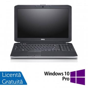 Laptop Dell Latitude E5530, Intel Core i7-3520M 2.90GHz, 8GB DDR3, 120GB SSD, DVD-RW, 15.6 Inch Full HD, Webcam + Windows 10 Pro, Refurbished Laptopuri Refurbished