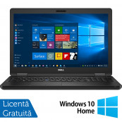 Laptop Dell Latitude 5590, Intel Core i5-7300U 2.60GHz, 16GB DDR4, 256GB SSD M.2, 15.6 Inch, Webcam, Tastatura Numerica + Windows 10 Home, Refurbished Laptopuri Refurbished