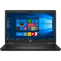 Laptop Dell Latitude E5580, Intel Core i5-7200U 2.50GHz, 16GB DDR4, 256GB SSD M.2, 15.6 Inch, Tastatura Numerica, Webcam
