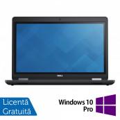 Laptop Dell Precision 3510, Intel Core i5-6300HQ 2.30GHz, 8GB DDR4, 240GB SSD, Tastatura Numerica, 15.6 Inch, Webcam + Windows 10 Pro, Refurbished Laptopuri Refurbished