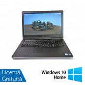 Laptop Dell Precision 7710, Intel Core  i7-6820HQ 2.70GHz, 32GB DDR4, 512GB SSD, Tastatura Numerica, 17.3 Inch, Webcam + Windows 10 Home, Refurbished Laptopuri Refurbished