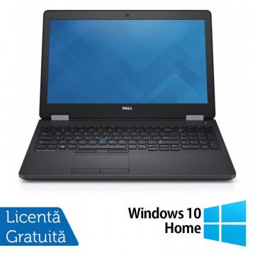 Laptop Dell Precision 3510, Intel Core i7-6700HQ 2.60GHz, 16GB DDR4, 240GB SSD, Full HD, Webcam, 15.6 Inch + Windows 10 Home, Refurbished Laptopuri Refurbished